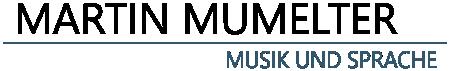 Martin Mumelter, Geiger und Autor Logo